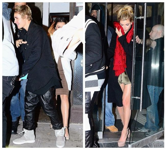 But she still celebrated her Valentine's Day with Justin as they were snapped to enjoying a night after opening boutique at 5am in nightclub.