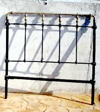 Madamemademoiselle el cabecero ideal - Cabeceros metalicos para camas ...