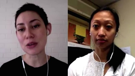 the time Elena Noor and Natalia Shambi discussed Malaysia