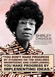 Mascot of the Month: Shirley Chisholm