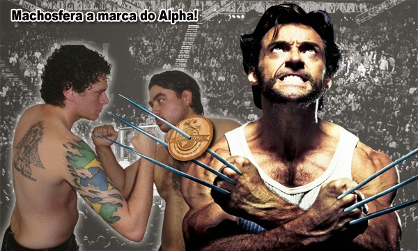 Machosfera a marca do Alpha!