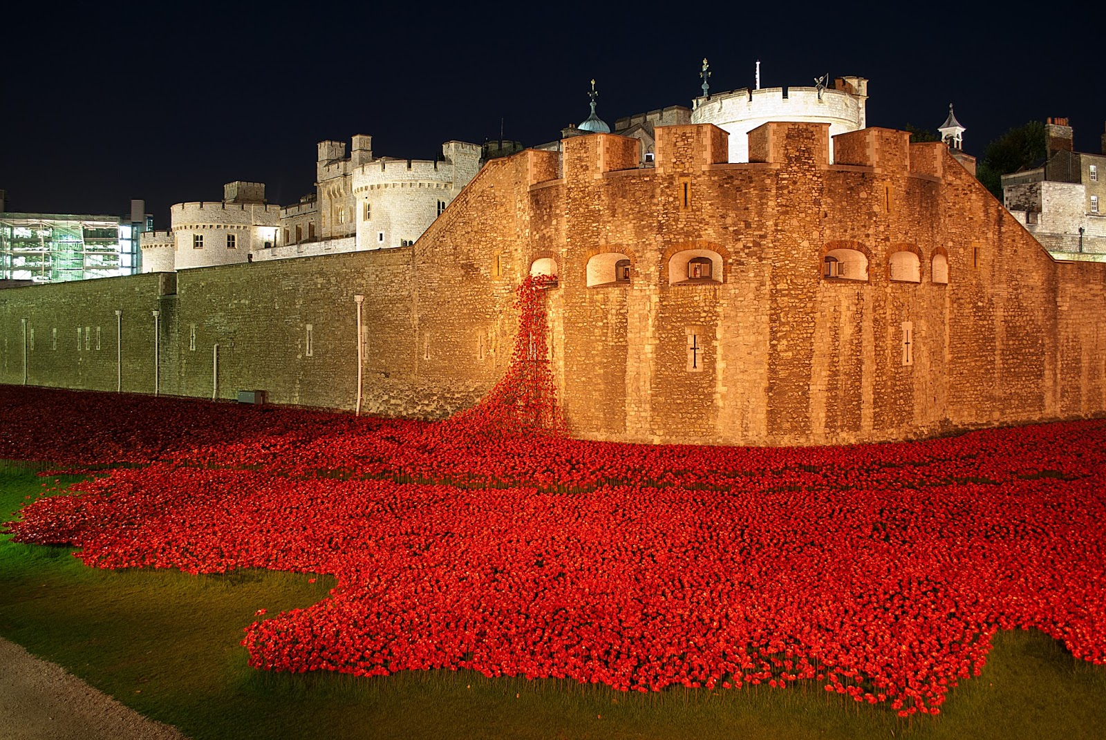 blood swept lands at tower of london
