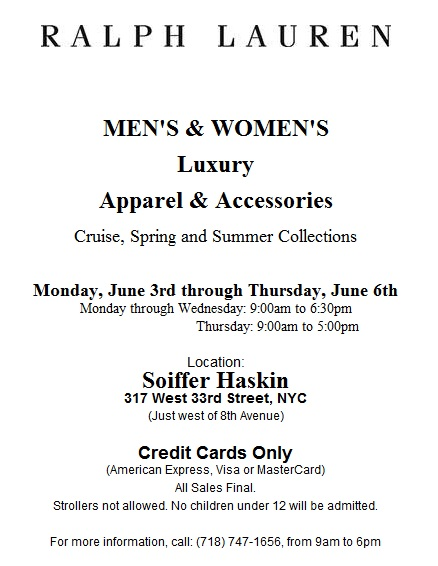 fashionably petite: June Sample Sales - Helmut Lang / Leg Resource ...