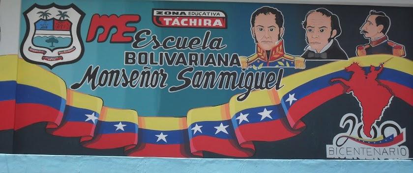 Escuela  Bolivariana Mons. Tomás Antonio Sanmiguel