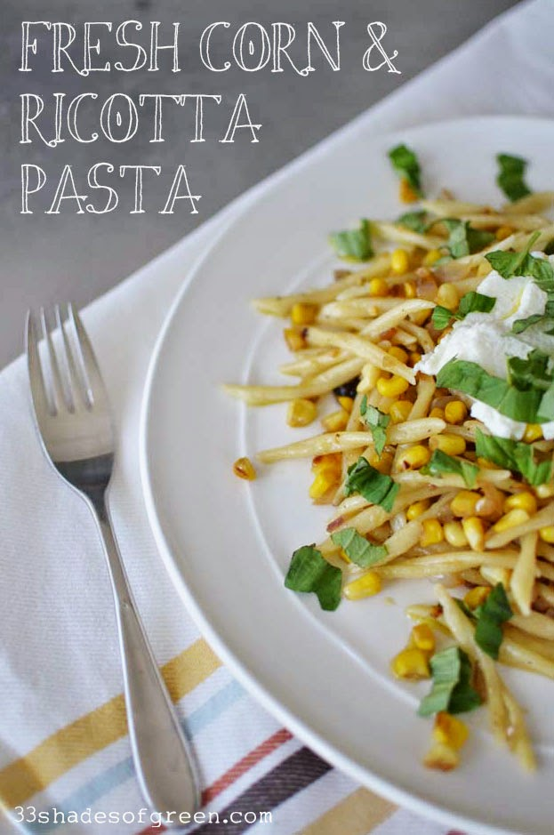 Fresh summer pasta with plugra ricotta sauce - Cook and Post
