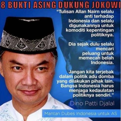 Bukti Asing Dukung Jokowi