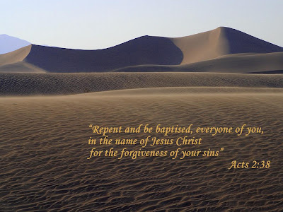 Acts 2:38 Bible Quote