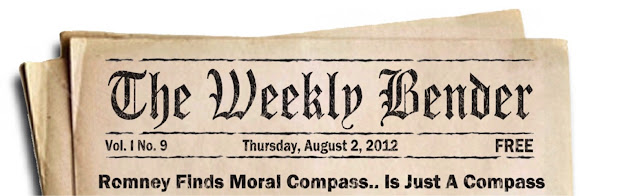 Mitt Romney Moral Compass Cartoon - The Weekly Bender
