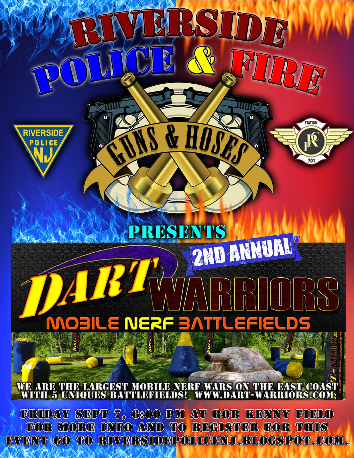 Dart Warriors Registration