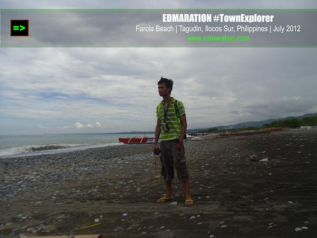 Farola Beach in Tagudin, Ilocos Sur
