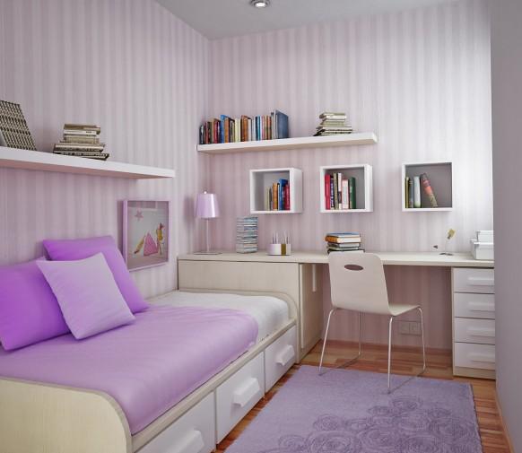 дизайн маленькой комнаты для подростка фото