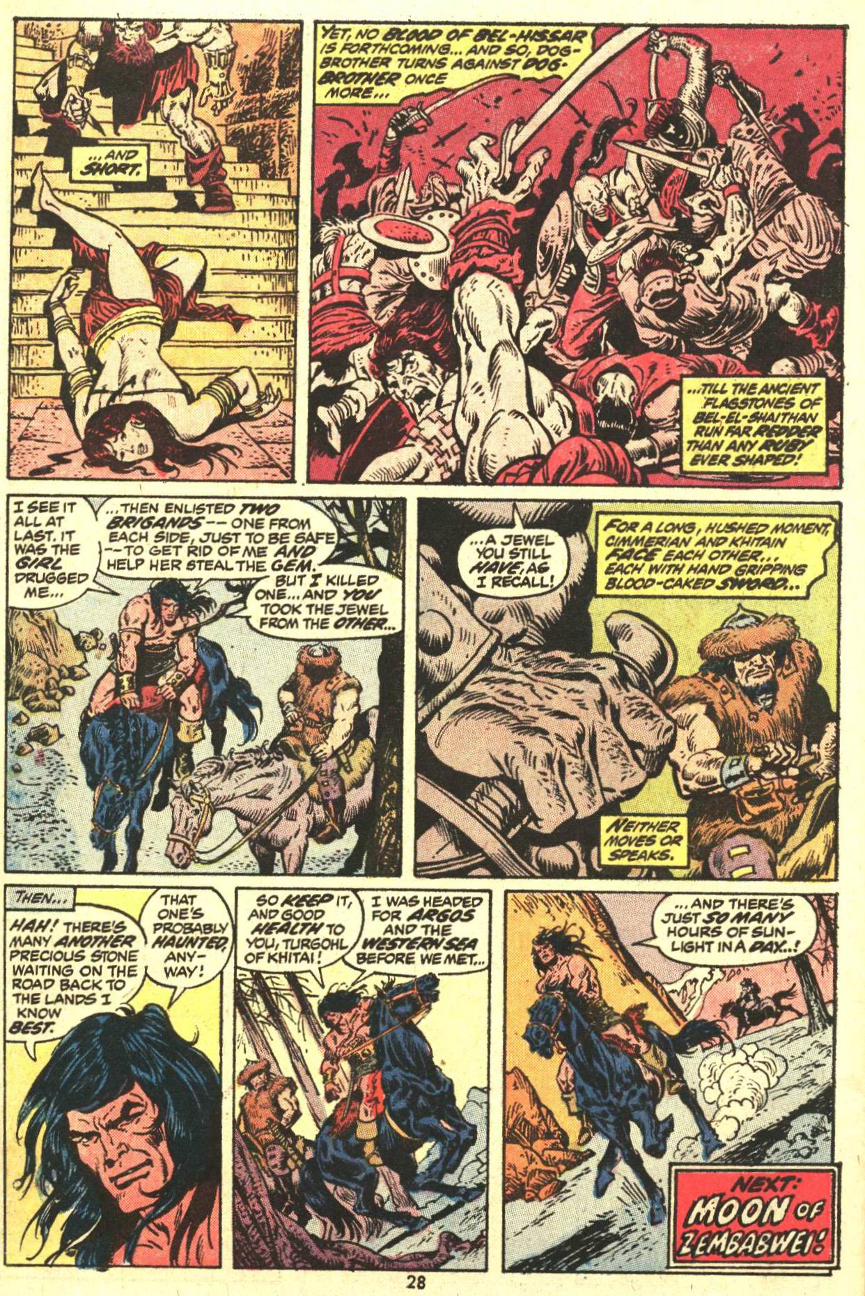 Conan the Barbarian (1970) Issue #27 #39 - English 21