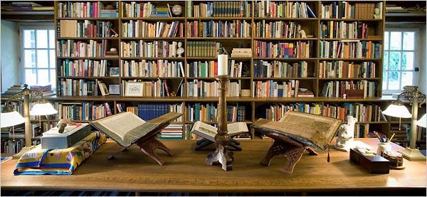 Alberto Manguel's Private Library