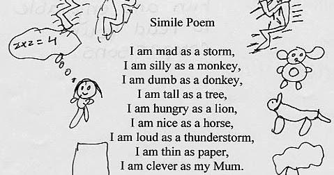 simile in poems - Edumac