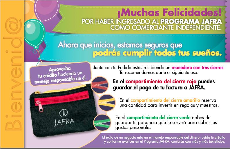 Jafra m xico folleto oportunidades muchas felicidades for Catalogo puntos bp