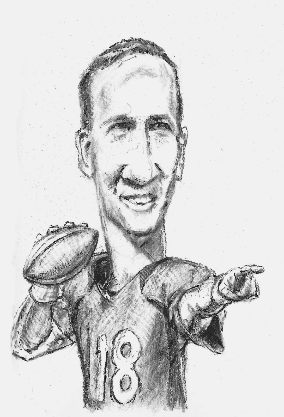 Free Coloring Pages Of Cam Newton Peyton Manning Coloring Pages