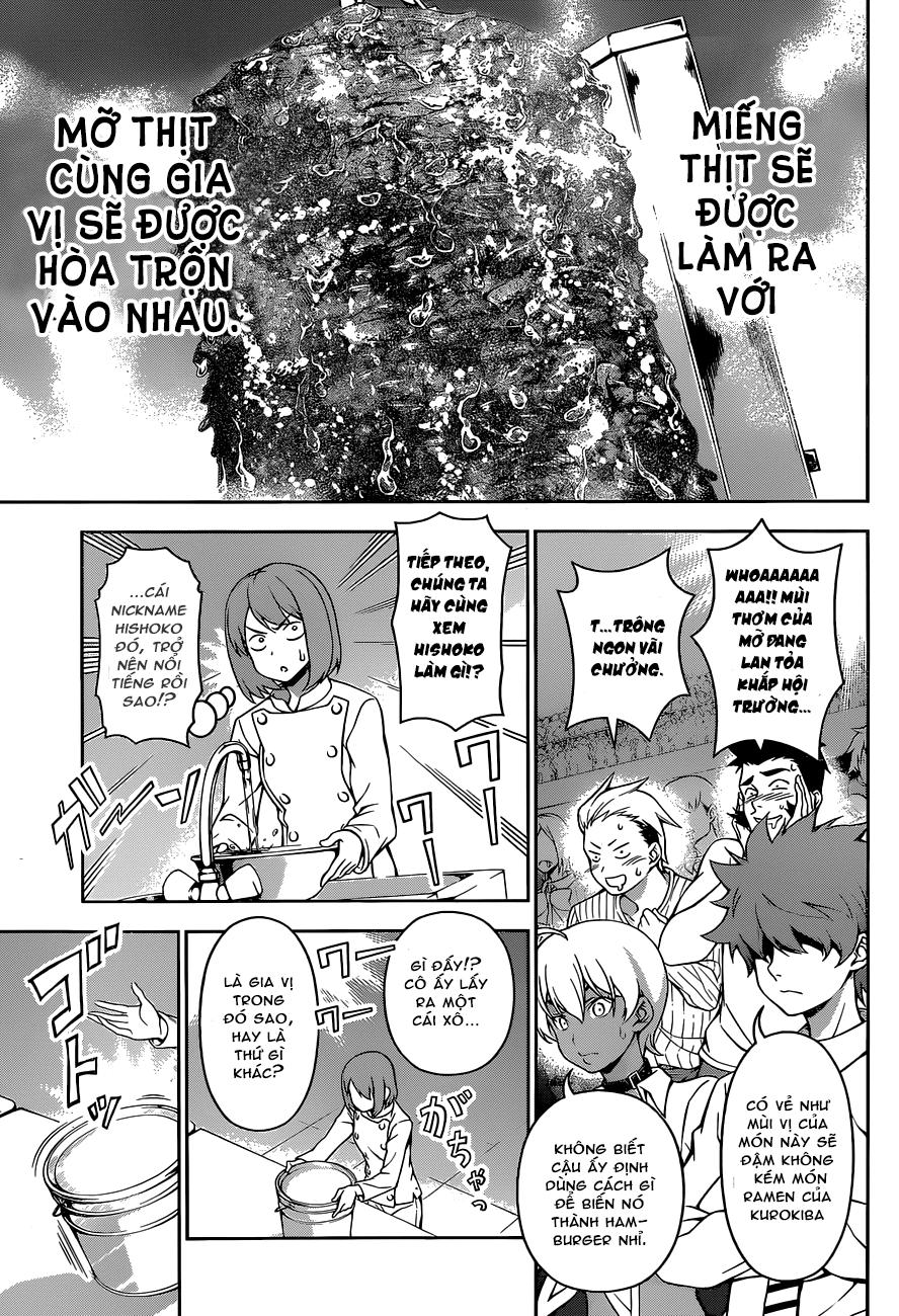 Shokugeki no Soma – Vua bếp Soma chap 73 Trang 13 - Mangak.info