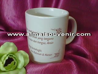 souvenir gelas mug, souvenir pernikahan gelas, souvenir pernikahan mug, souvenir pernikahan murah