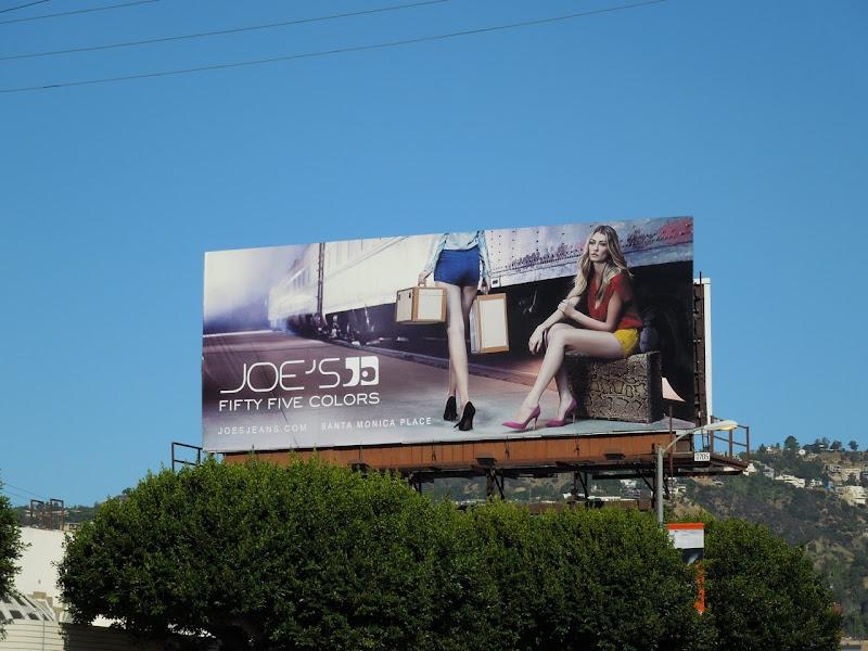 Joe's Jeans 55 Colors billboard