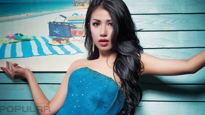 THE INDONESIAN BEAUTY VANYA SHINTA EKSOTIS