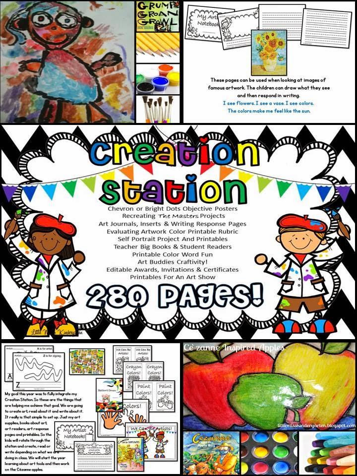 http://www.teacherspayteachers.com/Product/Creation-Station-728850