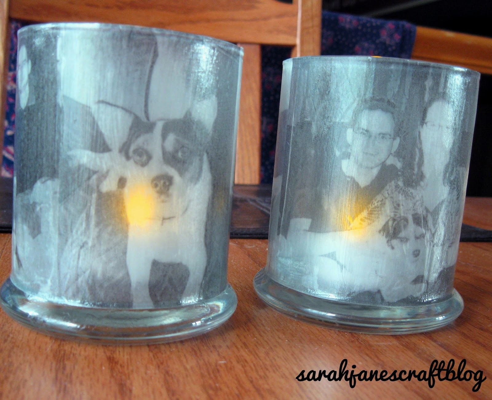 Sarah jane 39 s craft blog vellum photo candle holders for Candle holder crafts