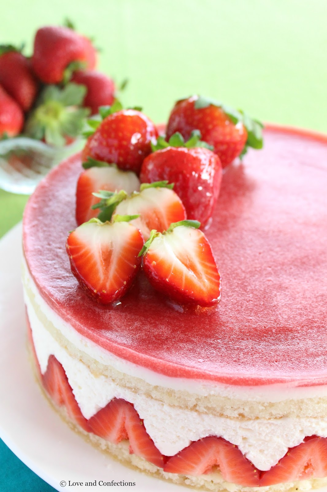 STRAWBERRY FRAISIER LOVE AND CONFECTIONS