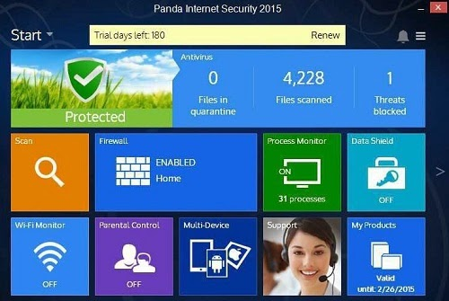 Panda Internet Security 2015 Activation Code