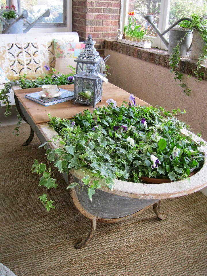 R cup et fait maison des id es r cup et d co id es r cup recycler une vielle baignoire - Deco jardin recup gratuit ...