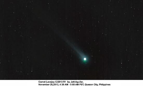 Komet ISON Lenyap, Giliran Komet Lovejoy Menampakan Diri