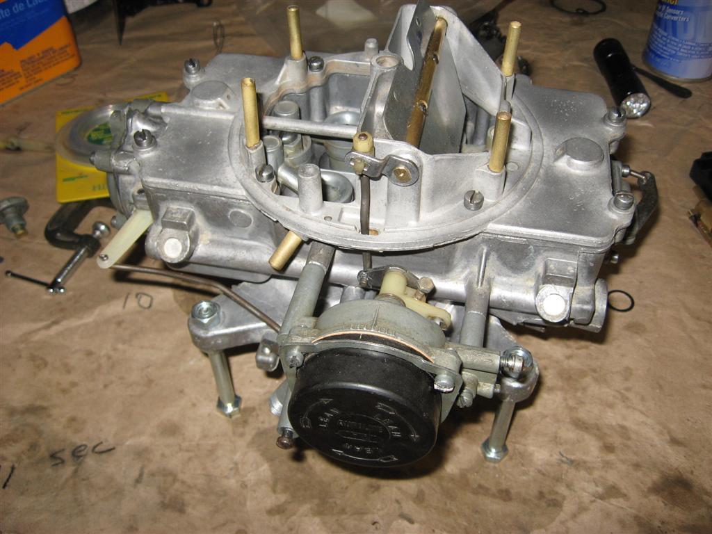 autolite 4100 rebuild instructions