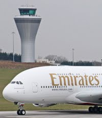 When and where to see the Emirates Airbus A380 at Birmingham Airport