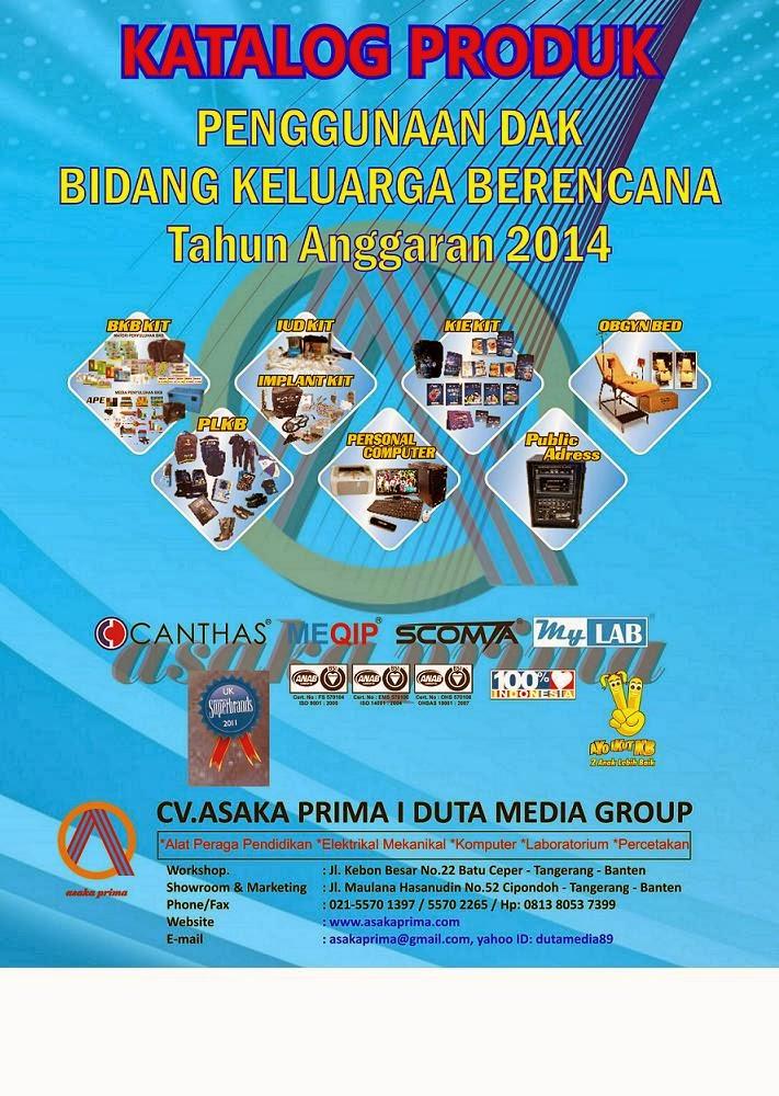 GenRe Kit 2014|Produksi BKB Kit 2014~Sarana PLKB|  DAK BKKBN 2014~OBGYN BED 2014