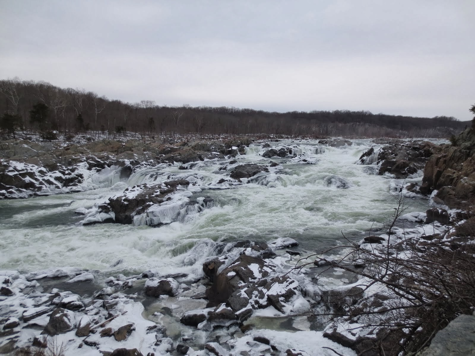Le Potomac en hiver
