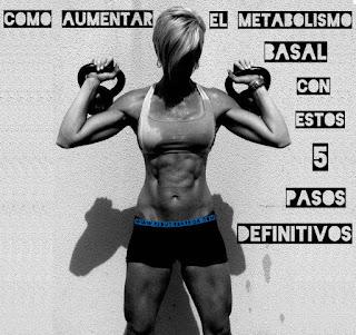 Como Aumentar Metabolismo Basal 5  Pasos Definitivos