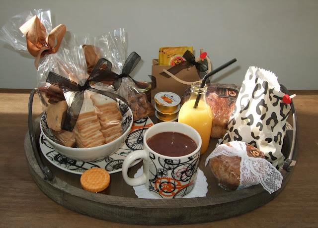 bandeja cafe da manhã