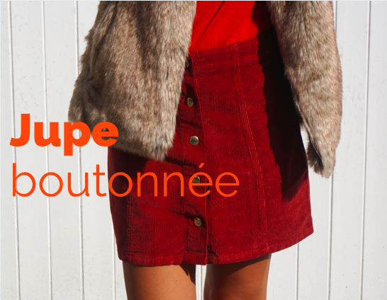 chloeschlothes - jupe a bouton