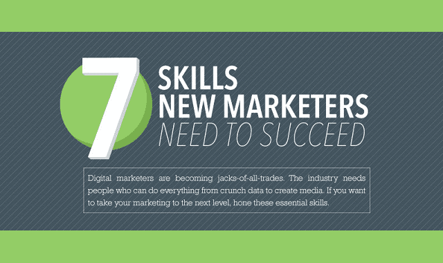 Image: 7 Skills New Marketers Need To Succeed