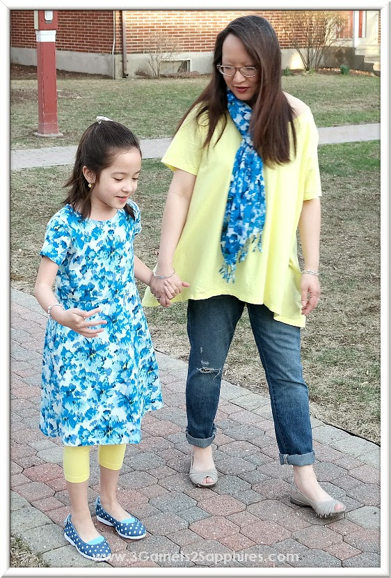Mother and daughter spring fashions from Lands' End for Mother's Day or any day!