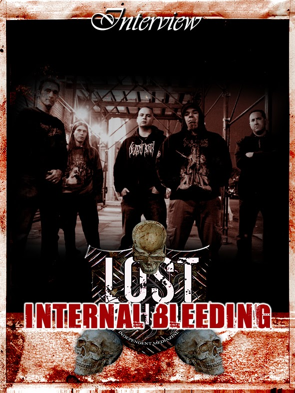 INTERNAL BLEEDING Interview (USA)