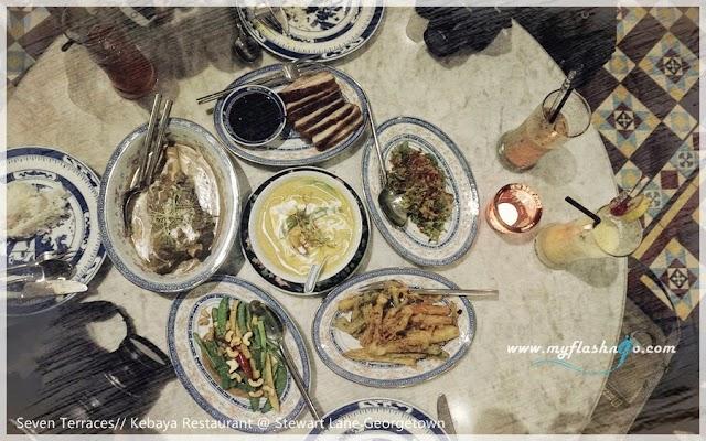 槟城酒店与美食 | 七间老厝 Kebaya 餐厅,不容错过的海峡 Indo-Chin 料理 (2/2)