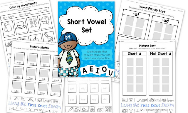 https://www.teacherspayteachers.com/Product/Short-Vowel-Phonics-Pages-1930676