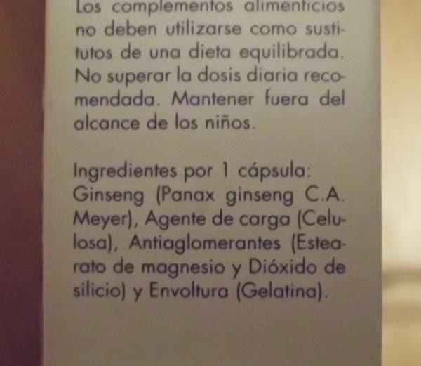 capsulas de ginseng