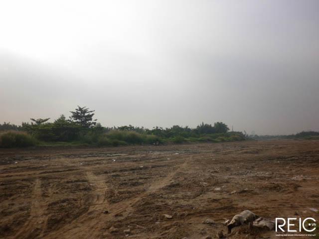 Hình ảnh thi công các tuyến đường chính Thủ Thiêm tháng 11.2014
