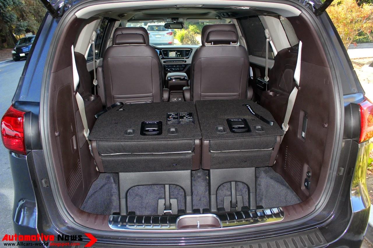Kia kia sedona 2015 : Automotive News: 2015 Kia Sedona - Review