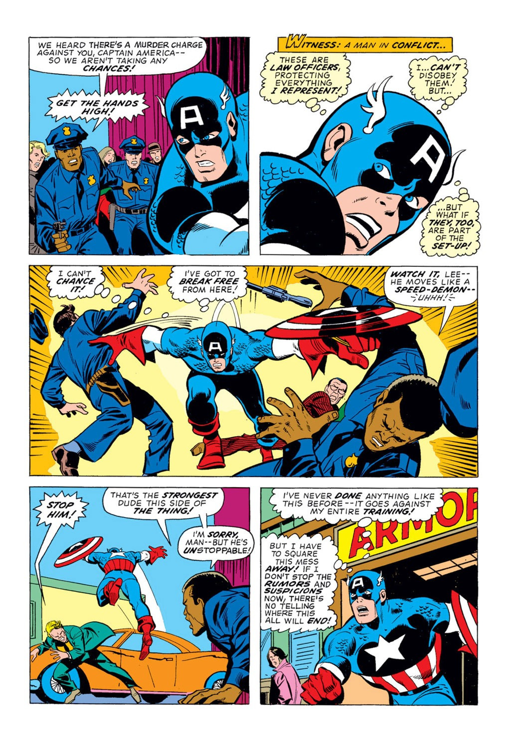 Captain America (1968) Issue #170 #84 - English 4