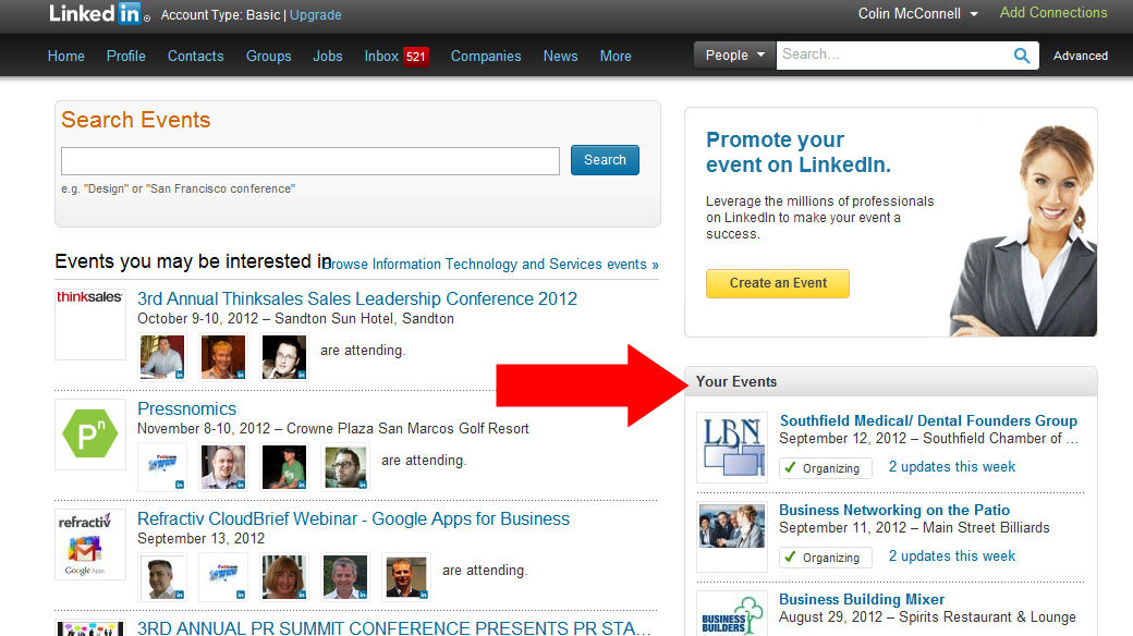 how to send an invite on linkedin