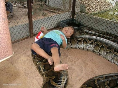 kid in the snakepit
