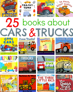 picture books about cars and trucks