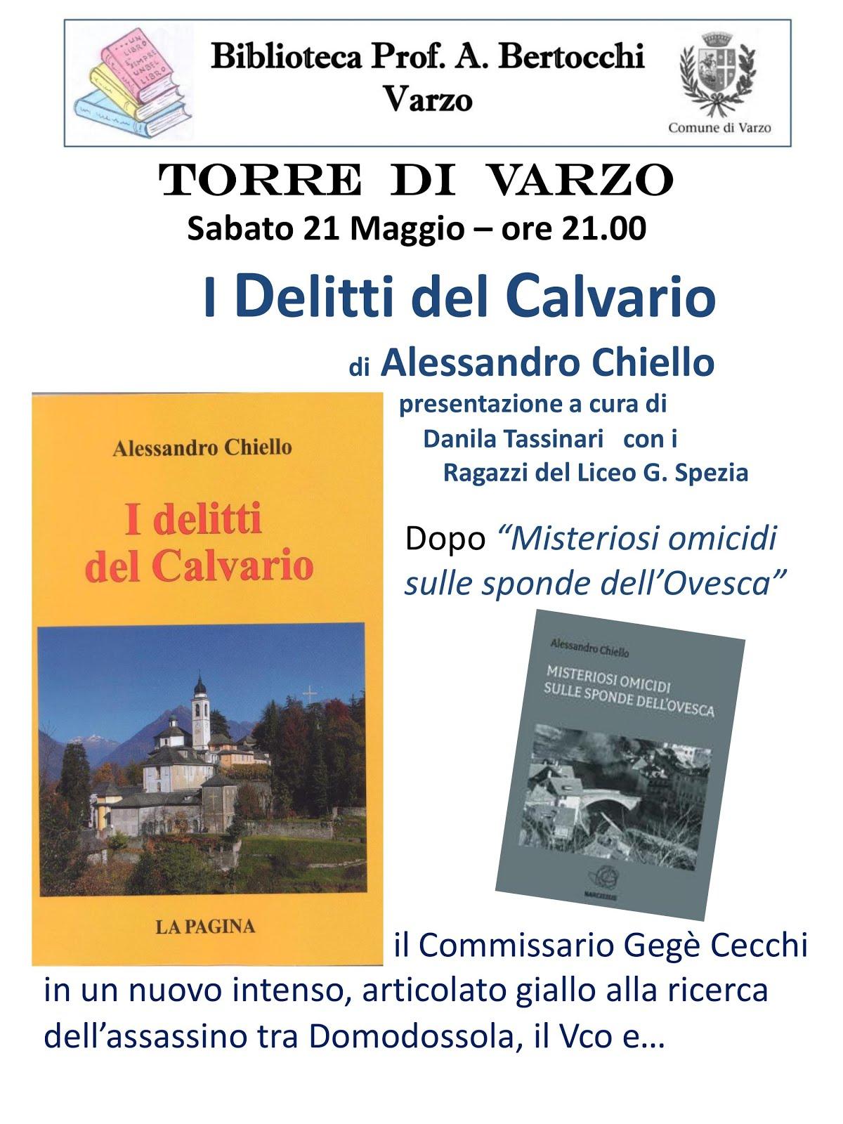 """""""I delitti del calvario"""" a Varzo..."""